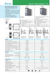 Serie 87 - Industrie-Zeitrelais 5 - 8 A - Finder