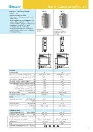 Řada 14 - Automat schodišťový, 16 A - Finder
