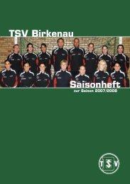 TSV Birkenau Saisonheft zur Saison 2007/2008