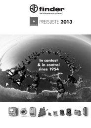 PREISLISTE 2013 - Finder