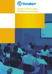 Finder Didattico - Kits Didaticos para Automação PDF