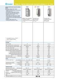 Řada 13 - Spínač elektronickýimpulsně  ovládaný, 10 - 16 A - Finder