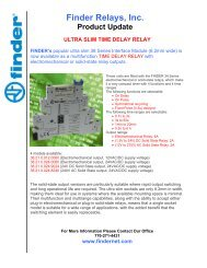 38.21 - Time Delay Relay - Finder