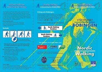 BOBINGEN Nordic Walking - Naturpark Augsburg Westliche Wälder ...