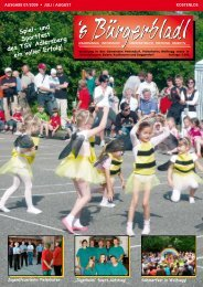 Spiel- und Sportfest des TSV Adlersberg ein voller Erfolg!