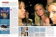 Paris im Berner Oberland - The World's Finest Clubs