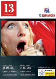 24. oKt. 2010 24. oKt. 2010 - FC Ellwangen 1913