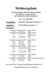 Meldeergebnis DM Masters lang 2007 - TSV Lindau 1850 e.V. ...