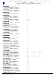 Aktuelle Terminliste: A-Klasse 6 Res (A-Klasse Res ... - TSV Brand