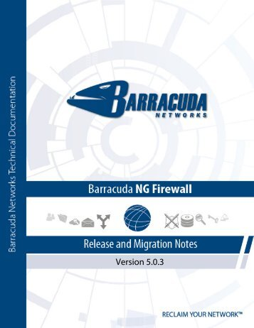 Bugfixes Included with Barracuda NG Firewall 5.0.3 - OwnerIQ
