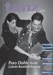 Paso Doble beim - Deutscher Tanzsportverband eV