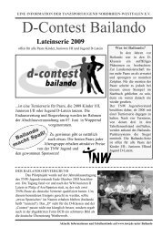 D-Contest Bailando - TNW