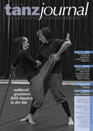 Tanzjournal 2/2011 (PDF) - Deutscher Tanzsportverband eV