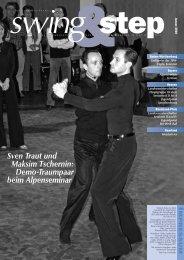 Sven Traut und Maksim Tschernin - Deutscher Tanzsportverband eV