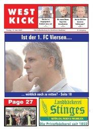 WEST KICK - Kolonne98.de