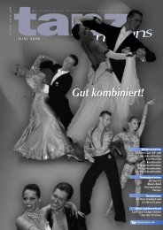 Juni 2008 - Deutscher Tanzsportverband eV