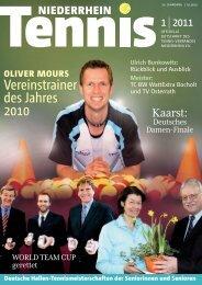 Vereinstrainer des Jahres 2010 - Tennis-Verband Niederrhein e.V.