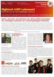 Hightech trifft Lebensart - TechnologieRegion Karlsruhe