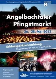 Angelbachtaler Pfingstmarkt - lokalmatador.de
