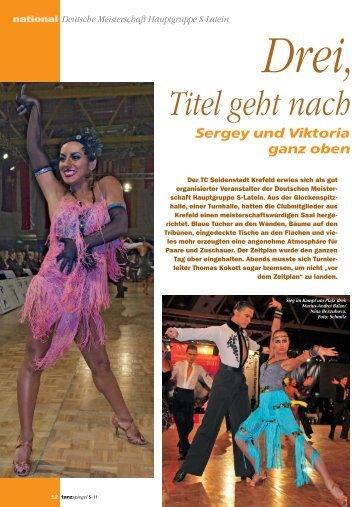 Deutsche Meisterschaft Hauptgruppe S-Latein