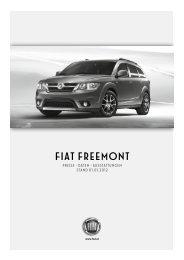 Preisliste Freemont - Fiat
