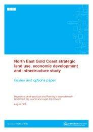 North East Gold Coast strategic land use, economic development ...
