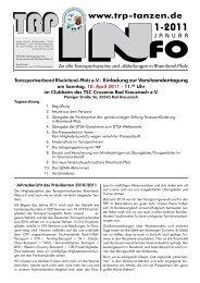 TRP-Info 1/2011 zum Download