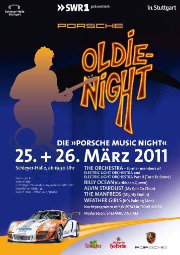 25. + 26. März 2011 - Porsche Music Night