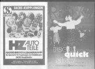 Rock Quick Slow - Heft 8 Januar 1987 - 1.TGC REDOUTE ...
