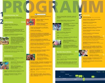 """Programm """"Lebendiger Neckar 2010"""" - Stadt Heidelberg"""