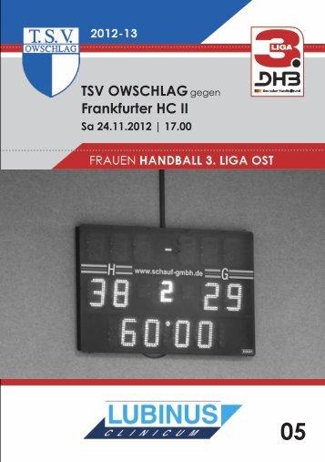 24.11.12 Heft 5 - TSV Owschlag