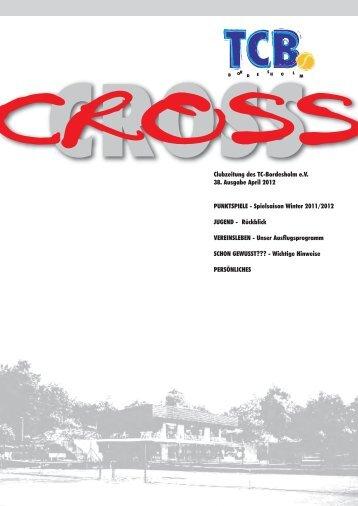 CROSS 38 April 2012 - Tennis Club Bordesholm
