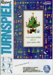 12/2006 - Bayerischer Turnspiel- Verband