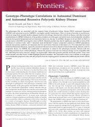 Genotype–Phenotype Correlations in Autosomal Dominant and ...