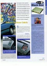 Chrysler Le Baron (PDF 6,3 MB) - Finsterwalder Elektronik, Wedel
