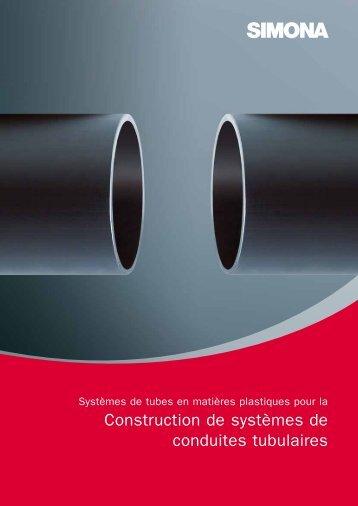 Construction de systèmes de conduites tubulaires - Simona AG