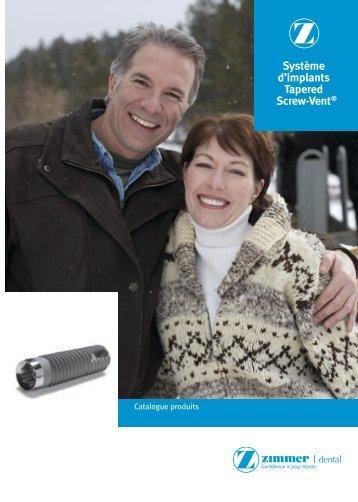Implants Screw-Vent - Dentis