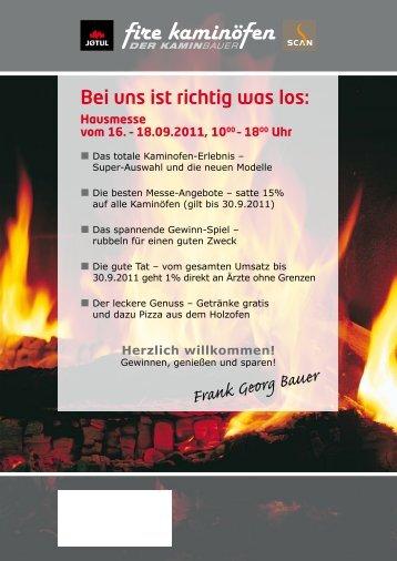 Frank Georg Bauer - fire kaminöfen GmbH