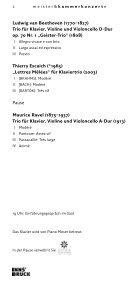trio dali - Meister & Kammerkonzerte - Seite 2