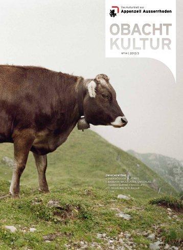 N° 14, 2012/3 - obacht kultur