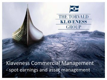 Klaveness Commercial Management - Marine Money