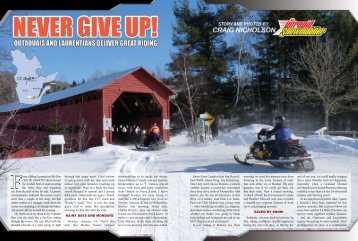 sledding tour of the Outaouais and Laurentian regions - Intrepid ...