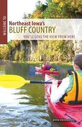 bluff country - Northeast Iowa Resource Conservation & Development