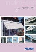 Fassadenmarkisen - Fallarm - - ABC-Markisen - Seite 5