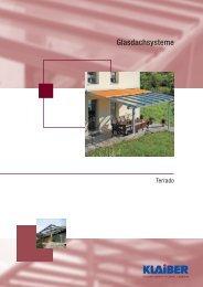Glasdachsysteme - ABC-Markisen