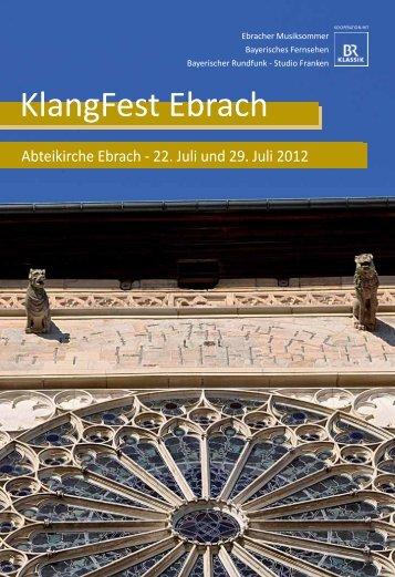 KlangFest Ebrach.pdf - Ebracher Musiksommer