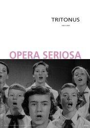 TRITONUS - HochschülerInnenschaft an der Universität für Musik