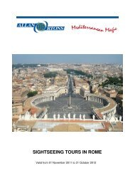 sightseeing tours in rome