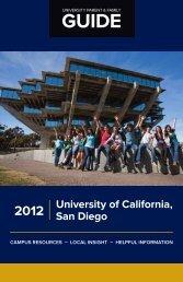 University of California San Diego 2012 - University Parent