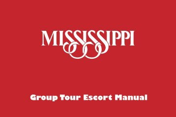 Group Tour Escort Manual - Mississippi